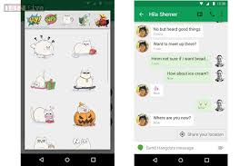 hangouts app android updates hangouts app for android with last seen timest