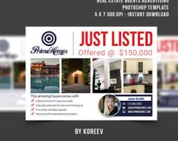 real estate postcard template marketing template pages