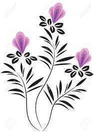 decorative flower decorative flowers ornament royalty free cliparts vectors and