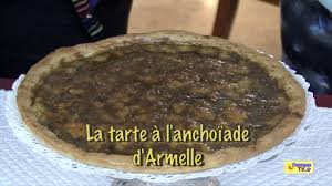 cuisine tv fr la tarte à l anchoïade d armelle