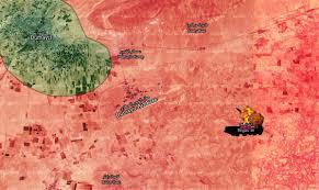Damascus Syria Map The Location Of The Israeli Raids Near Damascus Syria Liveuamap Com