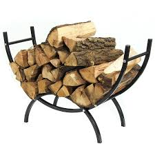 Fire Pit Logs by Sunnydaze Curved Firewood Log Rack U2013 Indoor U0026 Outdoor