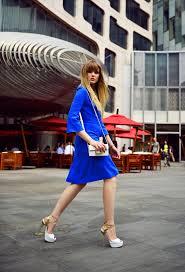 5 elegant ways to wear the cobalt blue trend u2013 glam radar