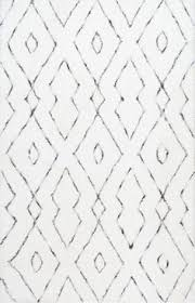 Black And White Braided Rug Found It At Wayfair Vintage Lindsy Blue Area Rug For The Home