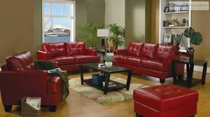 Red Chairs For Living Room by Samuel Red Leather Living Room Collection From Coaster Furniture