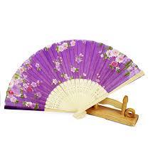 japanese folding fan flower japanese silk bamboo fan folding fans
