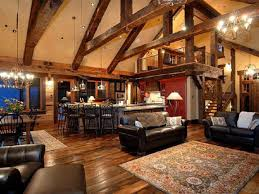 rustic open floor plans with loft rustic simple house floor plans