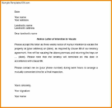 notice to vacate apartment letter notice to vacate 12 free