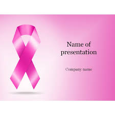 breast cancer powerpoint template free download free breast cancer