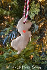 clay state ornaments a linky whats ur home story
