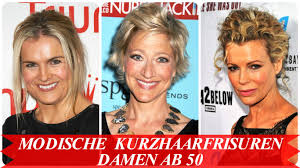 Modische Kurzhaarfrisuren Frauen by Modische Kurzhaarfrisuren Damen Ab 50