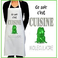 tablier cuisine rigolo tablier de cuisine rigolo cuisine moléculaire cadeau rigolo femme