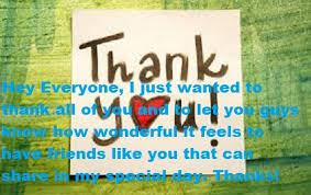 Happy Birthday Thank You Quotes 115 Best Thank You Quotes For Birthday Wishes