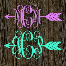 monogram stickers best monogram decals products on wanelo