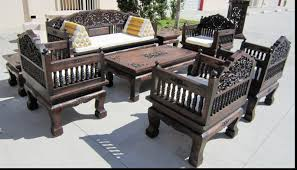 wood furniture design sofa set interior design