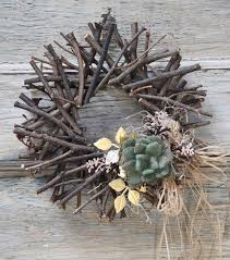 twig wreath how to make a succulent twig wreath creative