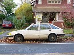 hatchback cars 1980s curbside classic 1982 nissan stanza u2013 queen dork