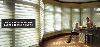 bay window treatments burlingame los altos and san carlos ca window treatments for bay and corner windows by rebarts interiors llc in burlingame los