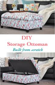 How To Make An Upholstered Ottoman by Easy Diy Upholstered Headboard With Nailhead Trim Anika U0027s Diy Life