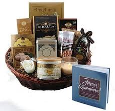 condolence gift forever remembered sympathy gift basket grieving heart