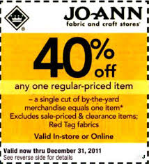 Joann Fabrics Website Joann Fabrics Coupons Coupon