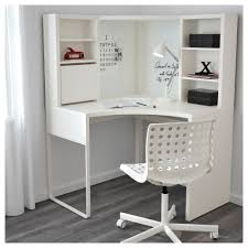 Ikea Micke Corner Desk by Home Decor Hemnes Desk With Add On Unit White Stain Ikea