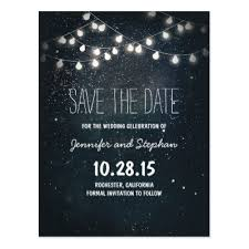 Rustic Save The Date Cute String Lights Rustic Save The Date Postcards Zazzle Com Au