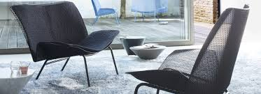 ligne roset grillage black chair