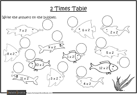 Times Table Worksheets 1 12 The 2 Times Table