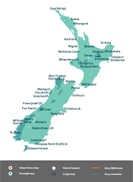 Map New Zealand New Zealand Bus Passes And Tours Stray Nz