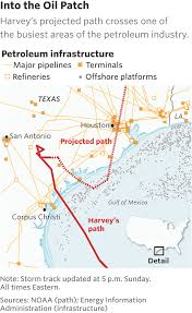 Map Of The Gulf Of Mexico by Harvey To Hit Flooded Houston Again Wsj