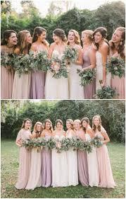 bridesmaids wedding dresses best 25 blush bridesmaid dresses ideas on