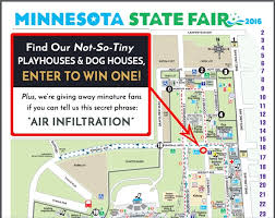 minnesota state fair map attraction at the minnesota state fair hoffman weber s town