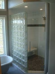 glass block bathroom ideas glass block showers small bathrooms glass block shower