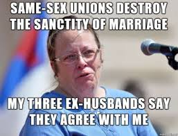 Marriage Equality Memes - the best kim davis memes so far lgbtq nation