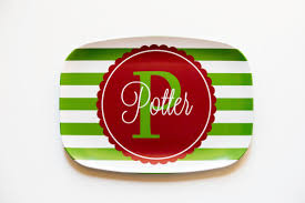 personalized melamine platters personalized melamine platter christmas our shop