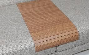 Sofa Arm Table by Amazon Com Sofa Tray Table Long Bahama Teak Sofa Arm Tray