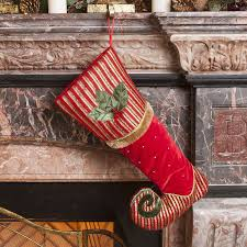 Christmas Stocking Decorations With Glitter by 128 Best Christmas Stockings And Holders Images On Pinterest