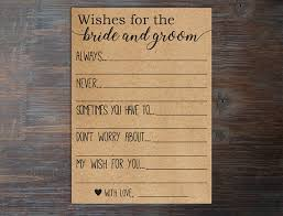 my advice for the and groom cards wishes for the and groom advice for the and
