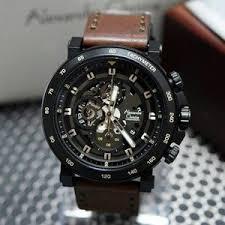 Jam Tangan Alexandre Christie Cowok tangan alexandre christie pria ac 6429 black brown original