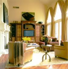 palladian window treatments living room traditional with arched
