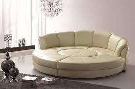 Leather Furniture Chairs Design Ideas Arrangement Modern Living Room Interior Design With Round Sofa Set