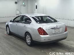 nissan cima 2005 2006 nissan teana silver for sale stock no 40823 japanese