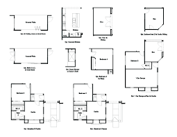 house plans with casitas adelaide plus floor plan at sonoran commons summit collection in