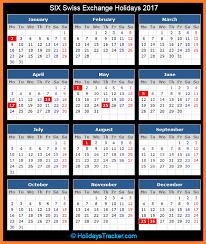 six swiss exchange holidays 2017 holidays tracker