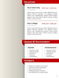 powerpoint resume template clean resume cv template for powerpoint