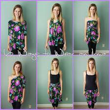 Clothes To Wear On A Safari 6 Ways To Wear Your Lularoe Irma Safari With Sarah