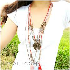 bead necklace charms images Tassels beaded necklace with charms long seeds design tassels jpg