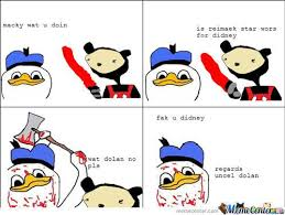 Dolan Meme - lovely dolan duck meme kayak wallpaper
