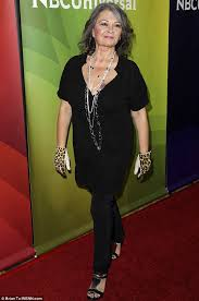 new look for roseanne barr 2015 with blonde hair roseanne barr looks skinny at event to promote new show last comic